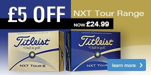 Titleist NXT Range - £24.99